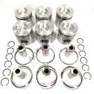 Engine Piston Kit- 6CT- 3929161- 240hp 114mm with Rings for one cylinder